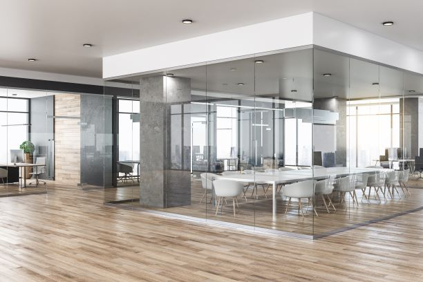 Commercial Office Fitout - Boardroom Option