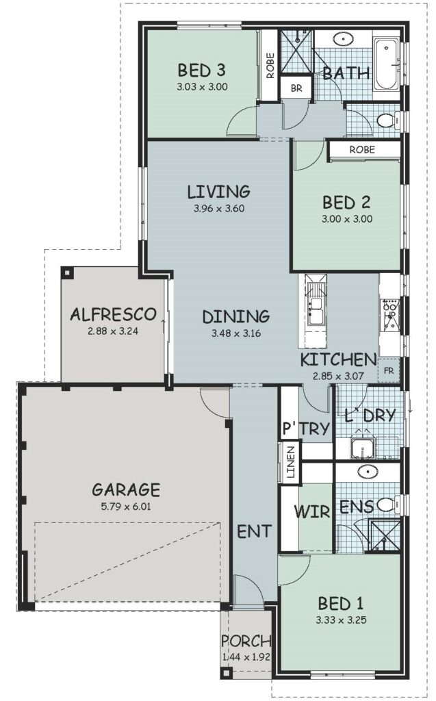 The 'Abercorn' Floor Plan