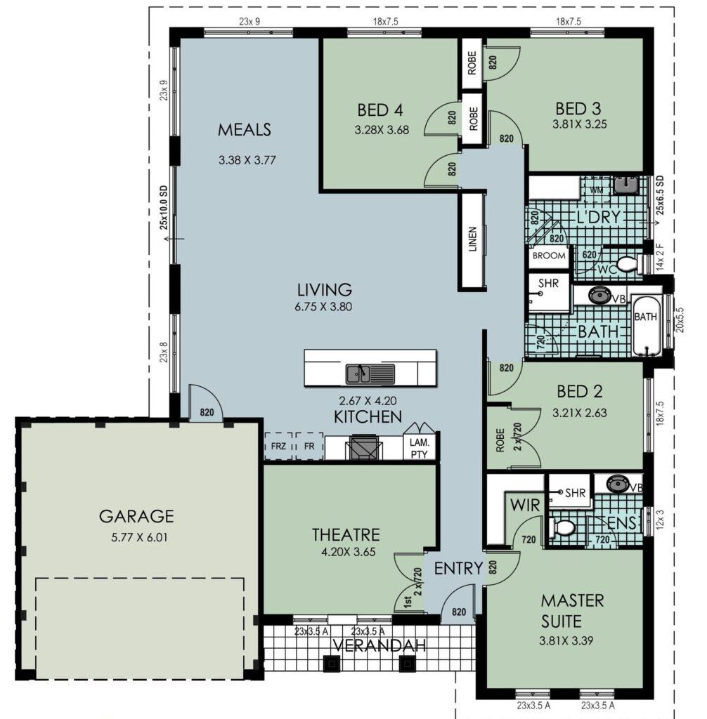 The 'Blackwood' Floor Plan