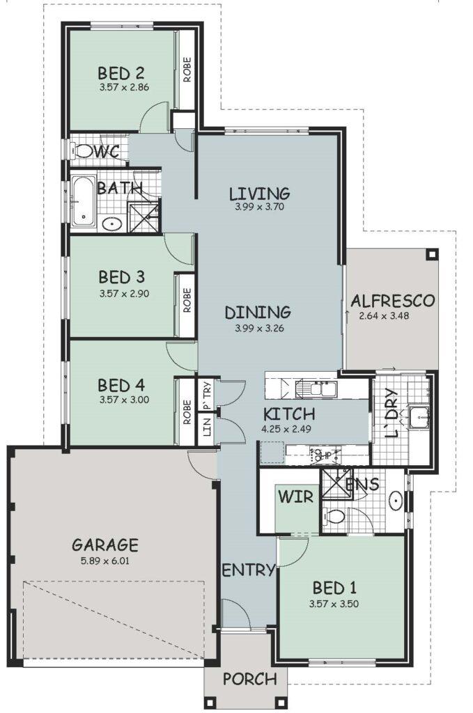 The 'Dandalup' Floor Plan