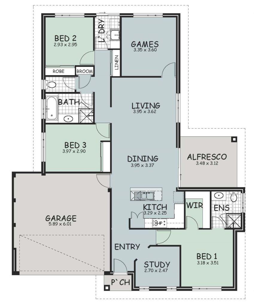 The 'Fairfield' Floor Plan
