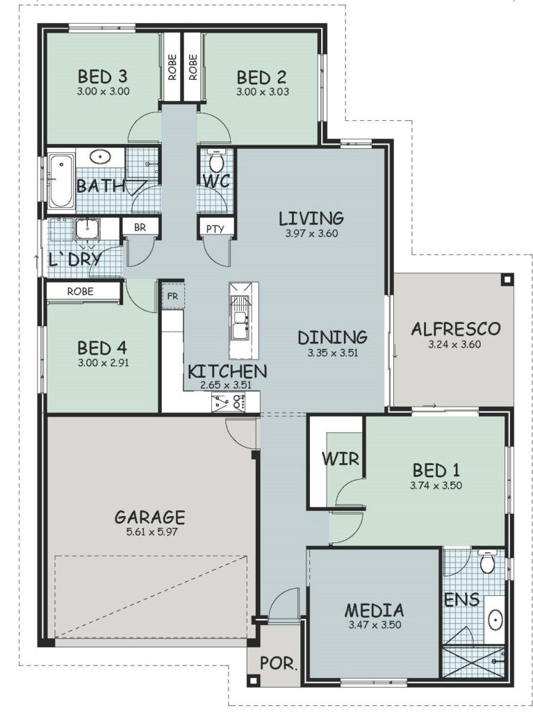 The 'Helena' Floor Plan
