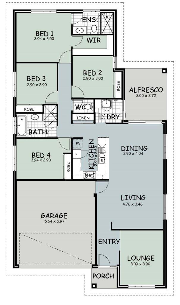 The 'Kalumba' Floor Plan
