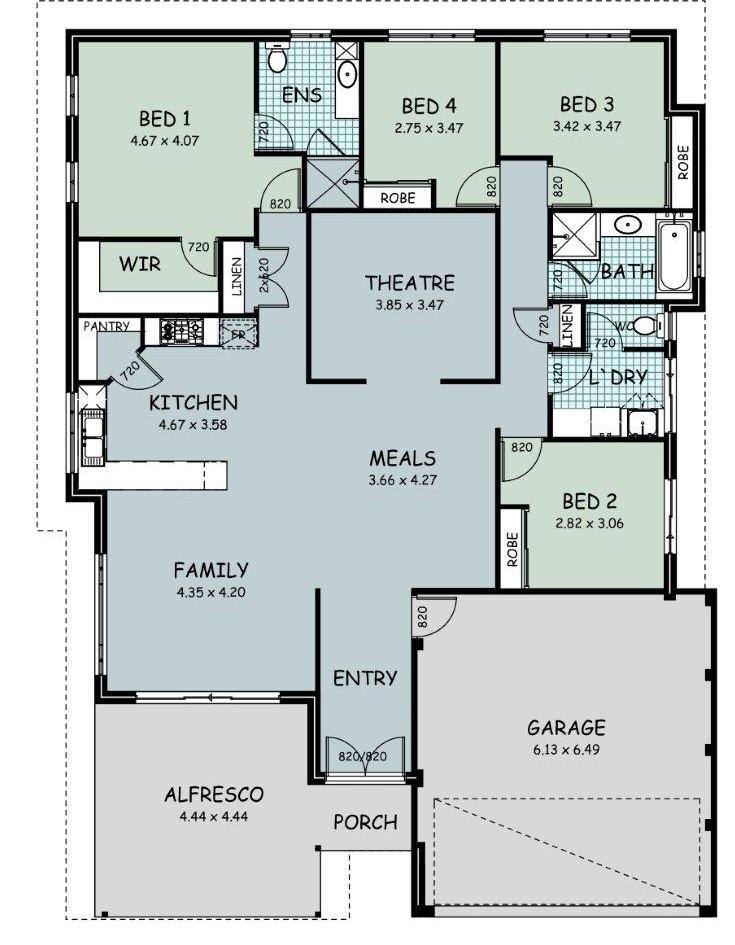 The 'Mackenzie' Floor Plan