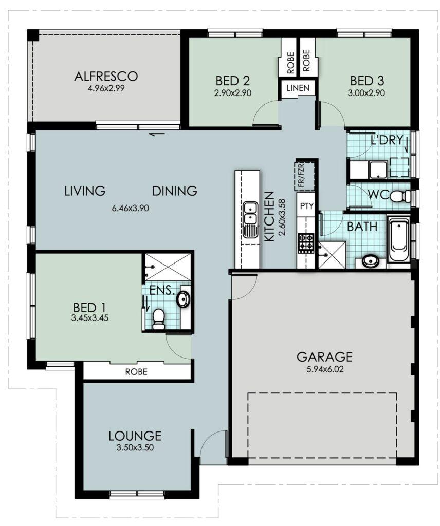 The 'Macleay' Floor Plan