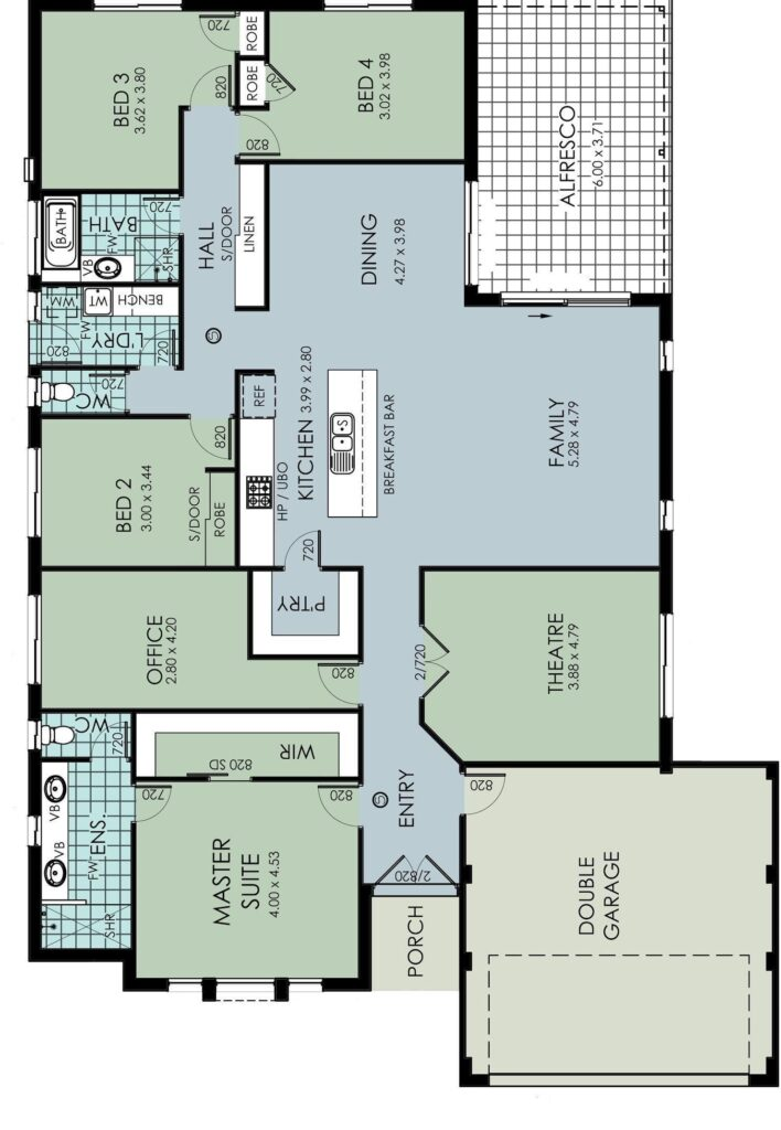 The 'Murchison' Floor Plan