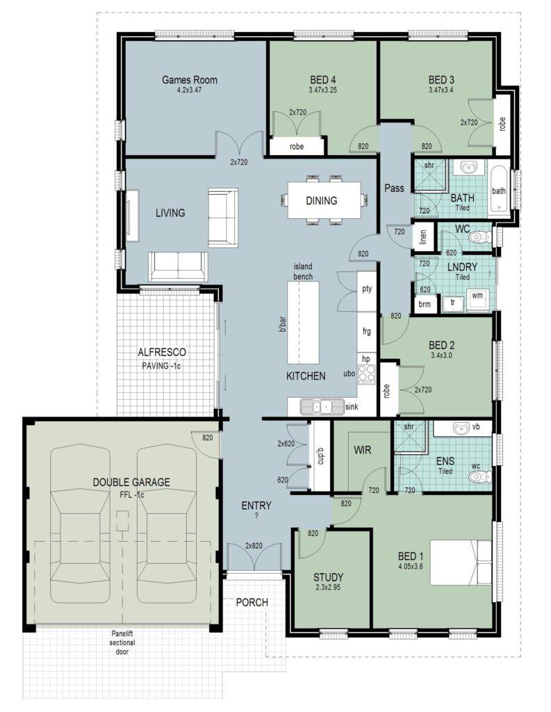 The 'Victoria' Floor Plan