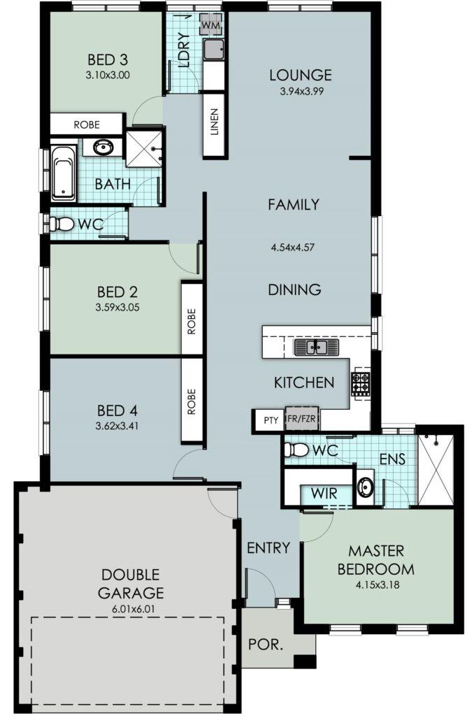 The 'Jardine' Floor Plan